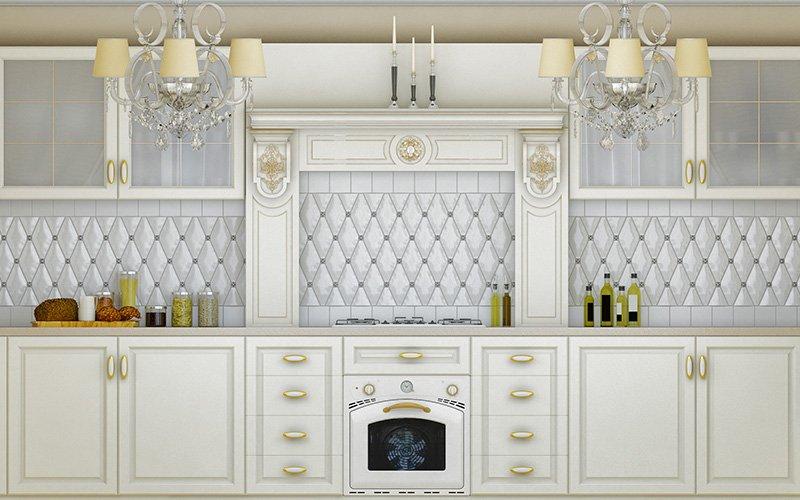 couple budgeting on kitchen renovation