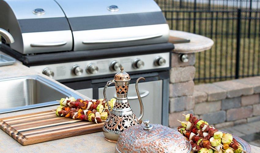 alfresco outdoor kitchen by 7
