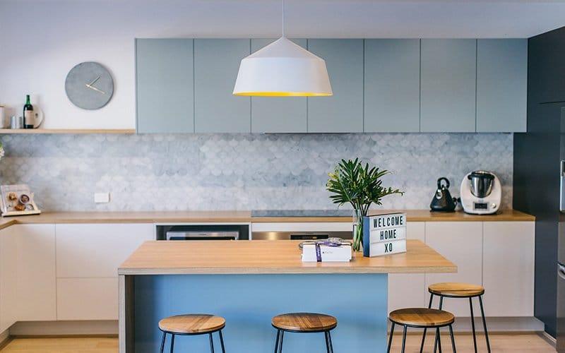 pastel blue kitchen inspiration kitchen craftsmen perth