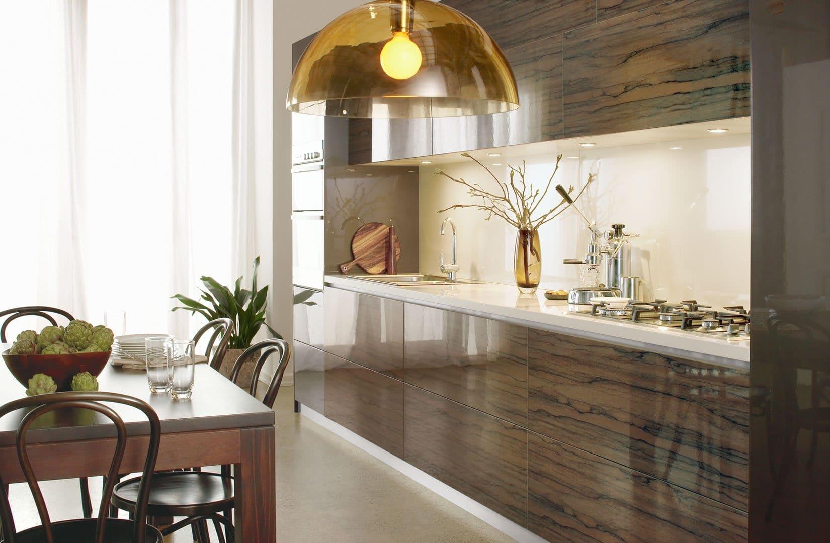timber themed kitchen renovation