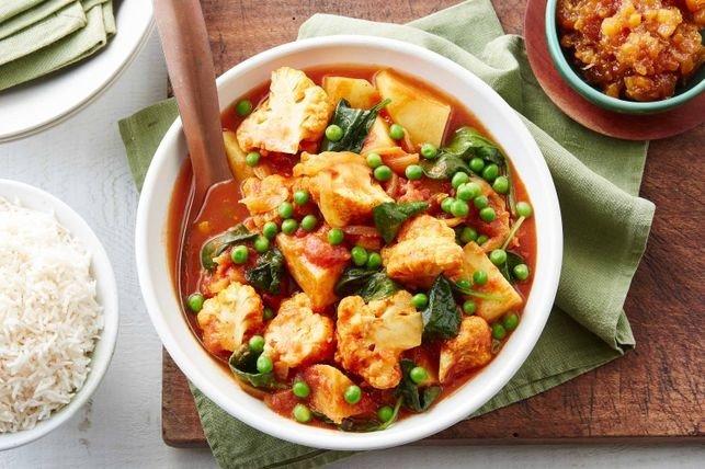 vegetable madras curry