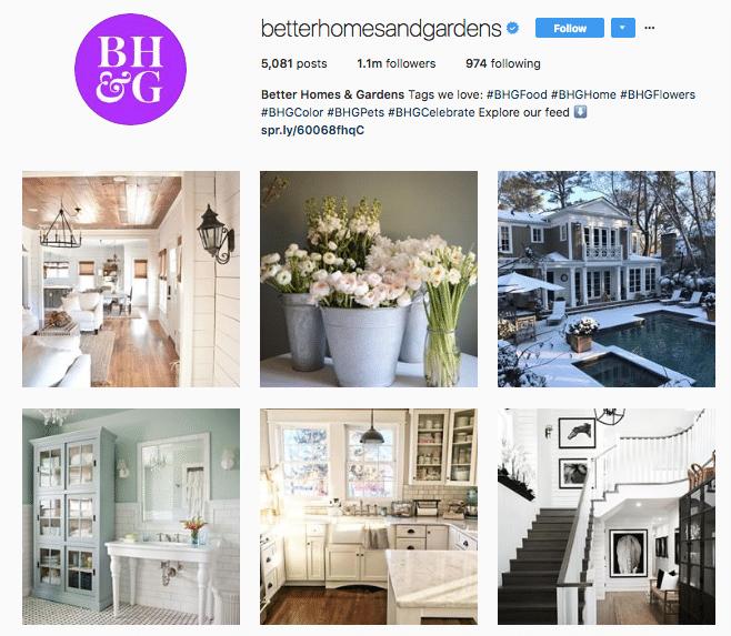 Better Homes and Gardens - Instagram - Kitchen Craftsmen