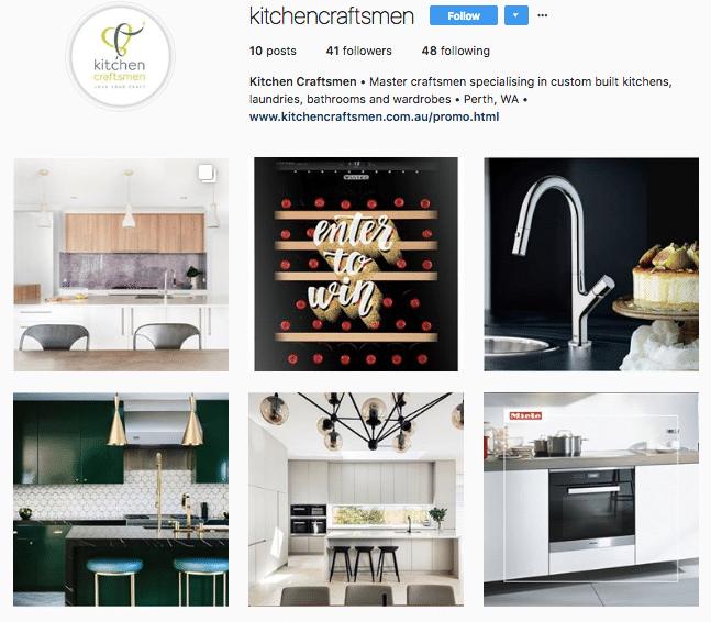 kitchen craftsmen instagram