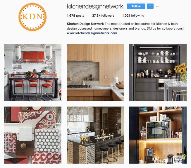 Kitchen Design Network - Instagram - Kitchen Craftsmen