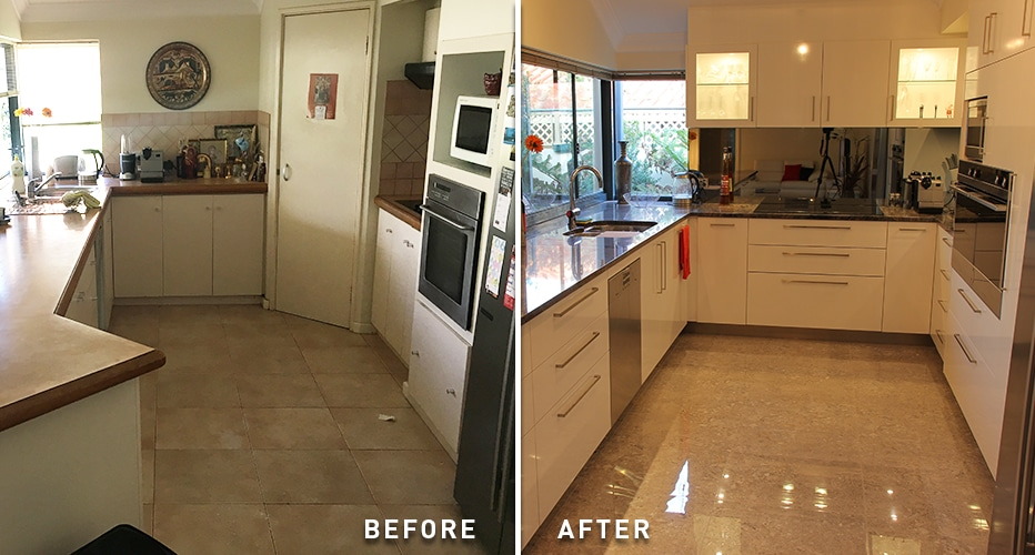 kitchen renovation before and after 2