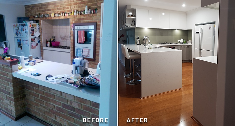 kitchen renovation before and after 3