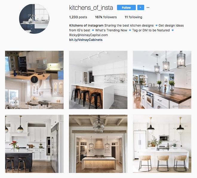 Kitchens Of Insta - Instagram - Kitchen Craftsmen