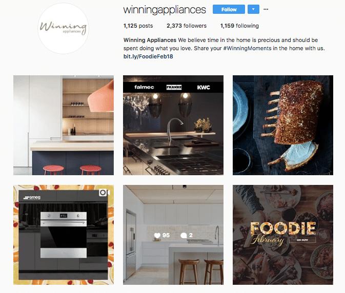 Winning Appliances - Instagram - Kitchen Craftsmen