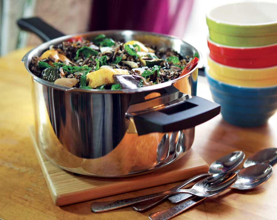 Pressure cooker cooking