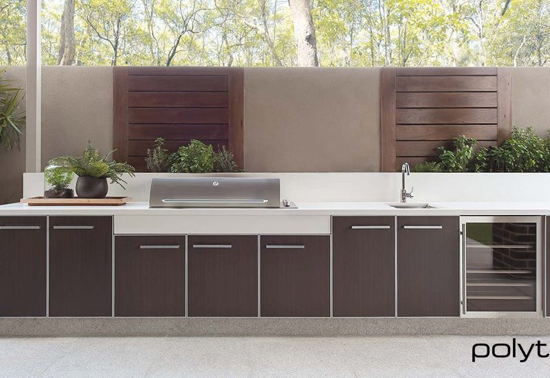 brown kitchen cabinetry