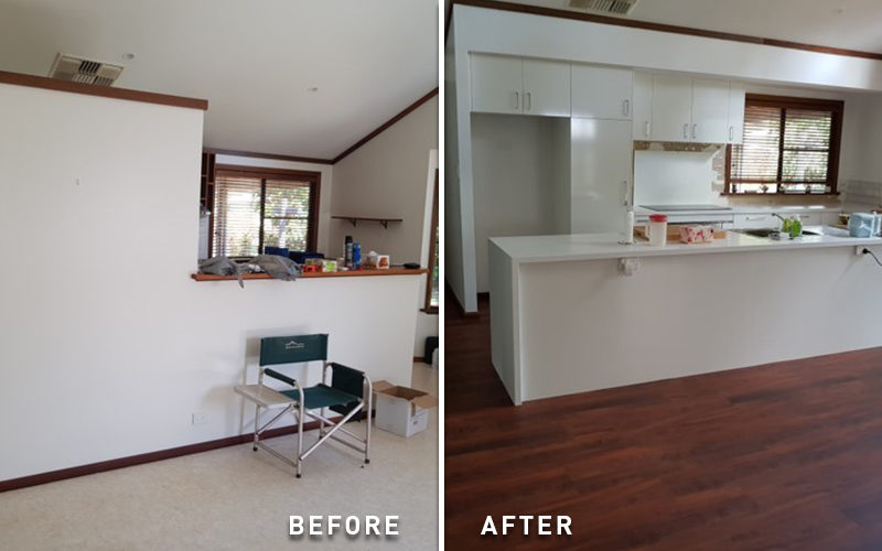 kitchen before after doyle