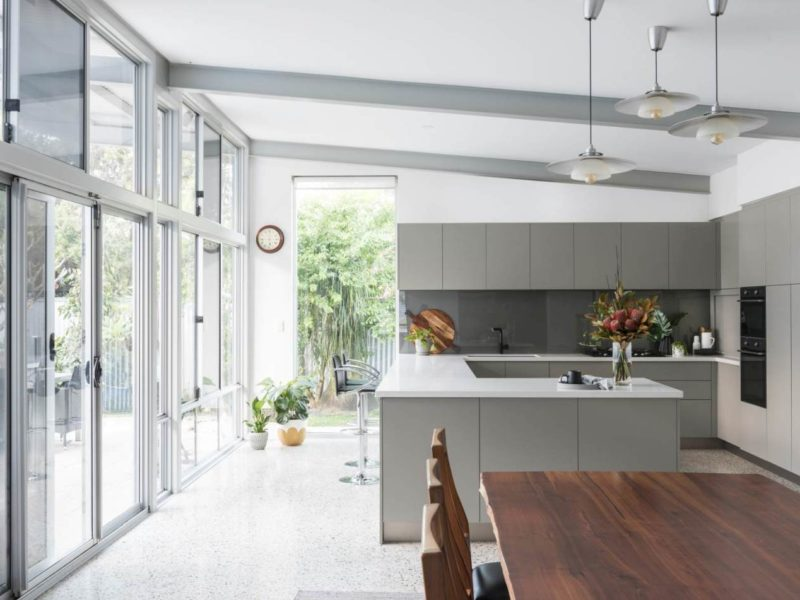 Kitchen Craftsmen Renovation Grey Kitchen Perth
