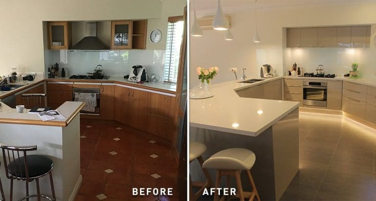 kitchen makeover in perth