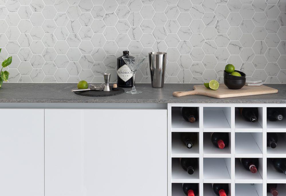 Kitchen Craftsmen Client Renovation Project Perth Wine Storage
