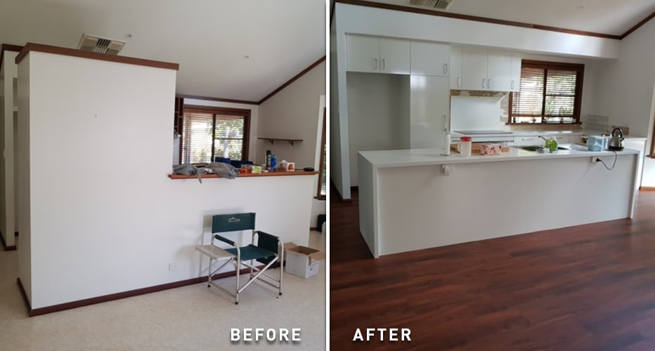 Kitchen Craftsmen Client Before And After Renovation Projects