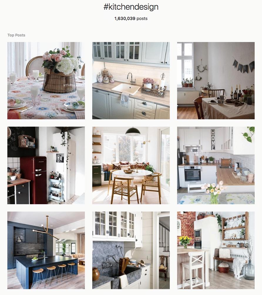 Kitchen Design Instagram Hashtag - Kitchen Craftsmen Perth
