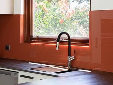 kitchen craftsmen renovation client project copper sink
