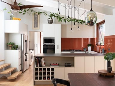 kitchen craftsmen renovation client project industrial style