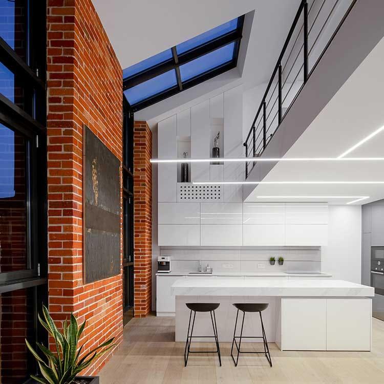 kitchen craftsmen renovation blog broken plan living high ceilings